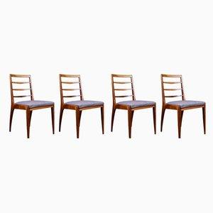 Esszimmerstühle aus Teak von McIntosh, 1960er, 4er Set
