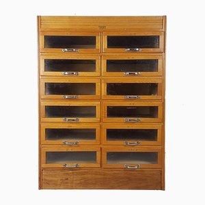 Mid-Century Oak Cabinet, 1950s