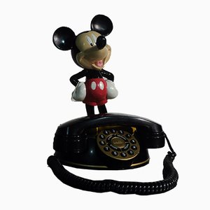 Vintage Mickey Mouse Telefon von Superfone Holland, 1980er