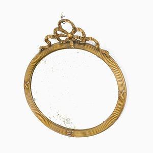 Antiker französischer Spiegel mit Stockflecken