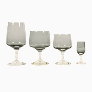 Mid-Century Glass Set by Per Lütken for Holmegaard, Set of 24