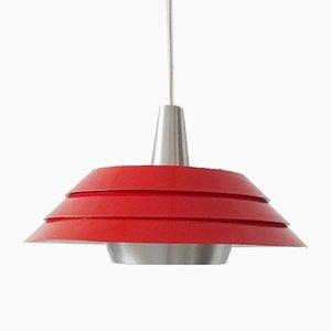 Mid-Century Scandinavian Metal Ceiling Lamp, 1960s