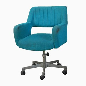 Italian Swivel Desk Chair, 1950s