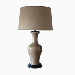 Lámpara de mesa de porcelana de Bidasoa, años 40