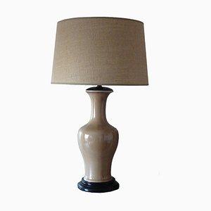 Lampe de Bureau en Porcelaine de Bidasoa, années 40
