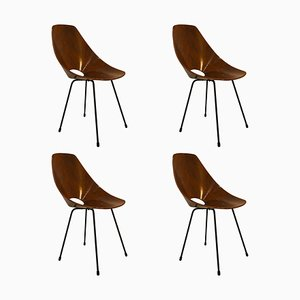 Dining Chairs by Vittorio Nobili for Fratelli Tagliabue, 1956, Set of 4