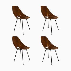 Esszimmerstühle von Vittorio Nobili für Fratelli Tagliabue, 1956, 4er Set