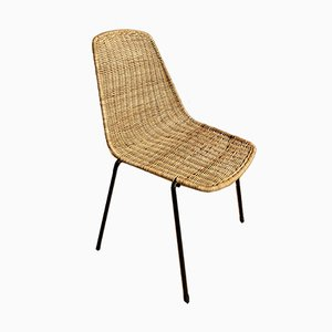 Basket Side Chair by Gian Franco Legler, 1960s