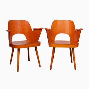 Lounge Chairs by Oswald Haerdtl for Ton, 1960s, Set of 2