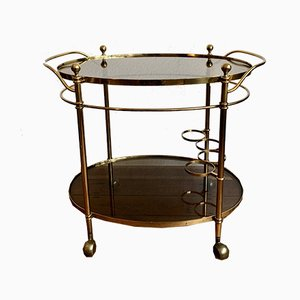 Brass Glass Trolley, 1960s