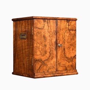 Antique Victorian Walnut Cabinet