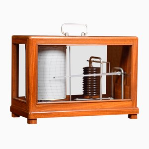 Large Antique Barograph from R Fuess