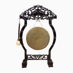 Gong Sculpté Ancien, Chine