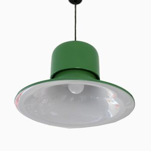 Italian Ceiling Lamp from Stilnovo, 1970s