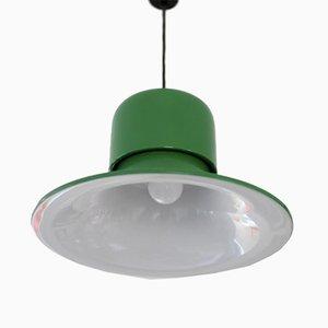 Lámpara de techo italiana de Stilnovo, años 70