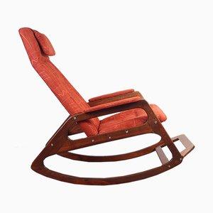 Rocking-chair Mid-Century d'ULUV, années 70
