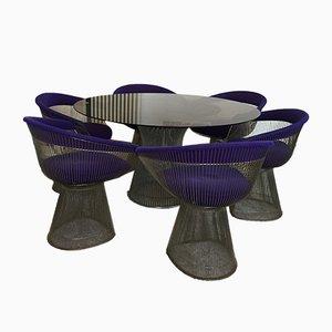 Esszimmerstühle & Tisch von Warren Platner für Knoll International, 1960er