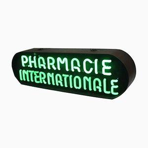 Insegna di farmacia al neon vintage di Aureol Neon Amsterdam