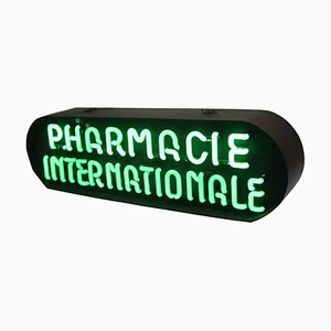Vintage Neon Pharmacy Sign from Aureol Neon Amsterdam