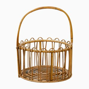 Rattan Container, 1950s