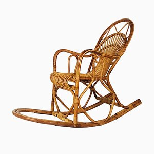 Italian Rocking Chair, 1960s