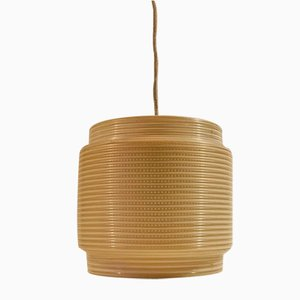 Lámpara colgante Saturn de Heifetz Rotaflex, años 60