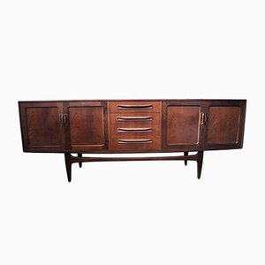 Mid-Century Danish Teak Credenza by Ib Kofod Larsen for G Plan