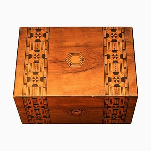 19th Century Victorian Tunbridge Ware Box