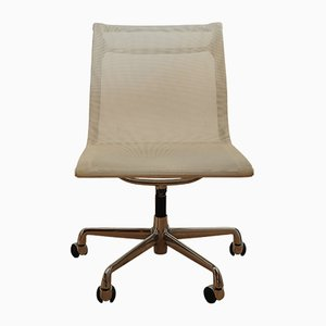 White Model EA108 Swivel Chair by Charles & Ray Eames for ICF, 2001