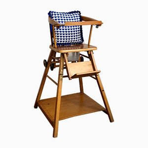 Wood Childrens Chair, 1950s