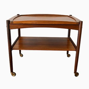Rosewood Trolley by Poul Hundevad, 1960s