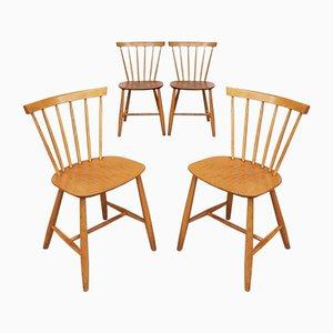 Sedie da pranzo di Farstrup Møbler, anni '70, set di 4