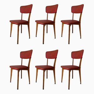 Vintage Bistro Chairs from Luterma, 1950s, Set of 6