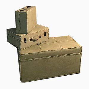 Suitcases and Trunk Set from OfficinadiRicerca, 1980s