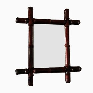 Small Square Wall-Hanging Mirror, 1930s