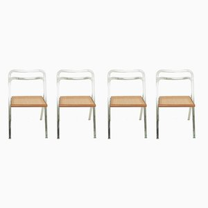 Chaises Pliantes par Giorgio Cattelan, années 70, Set de 4