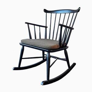 Rocking-chair Mid-Century de Farstrup Møbler, Danemark, années 60