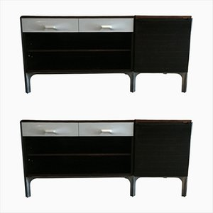 Rosewood Desks by Raymond Loewy for Doubinsky, 1960s, Set of 2
