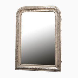 19th Century Louis Philippe Silver Gilt Wall Mirror