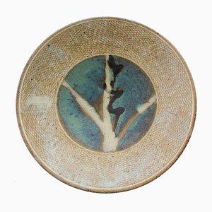 Cuenco japonés de gres de Kawai Kanjirō, años 50