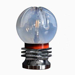 Mid-Century Tischlampe aus Muranoglas