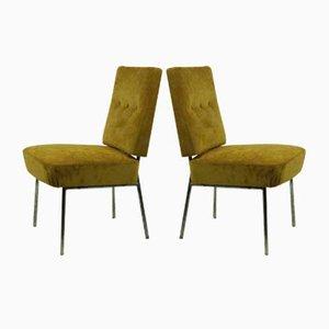 Bauhaus Beistellstühle, 1960er, 2er Set