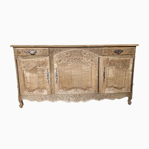 19th Century French Bleached Oak Sideboard
