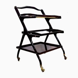 Italian Lacquer Trolley by Cesare Lacca, 1960s