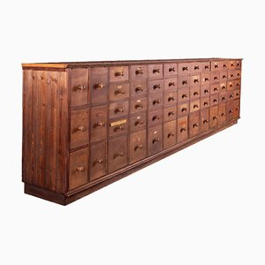 Mueble de farmacia, años 40