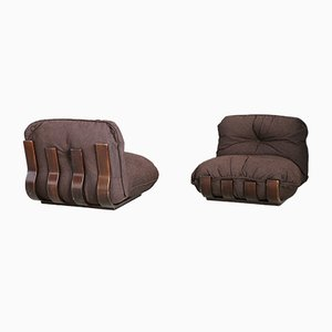 Lounge Chairs by Luciano Frigerio for frigerio, 1970s, Set of 2