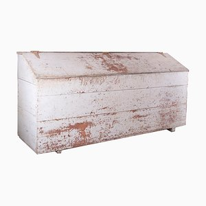 Caja antigua de harina