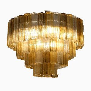 Chandelier by Toni Zuccheri for Venini, 1980s