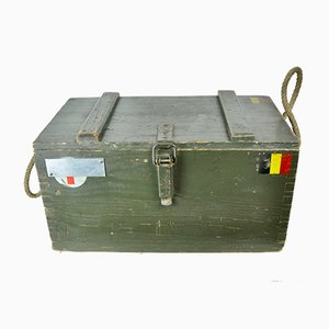 Belgian Military Housing Trunk, 1960s