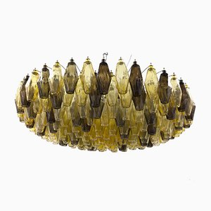 Vintage Poliedri Chandelier by Carlo Scarpa for Venini